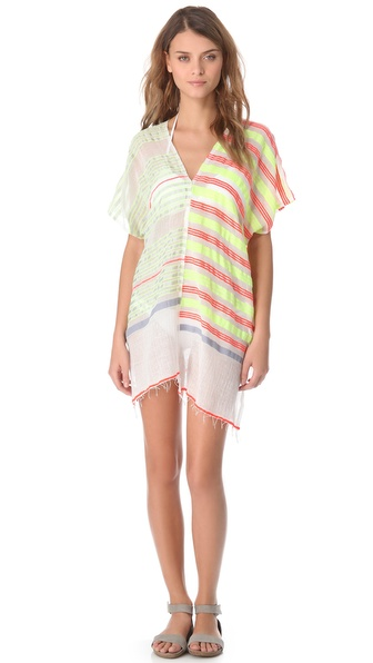 Lemlem Betty Split Cover Up