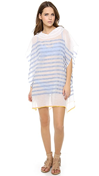 Lemlem Lilly Hooded Poncho
