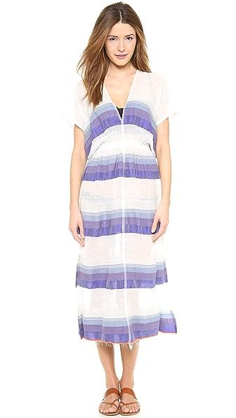 Lemlem Bezez Gauze Patio Dress