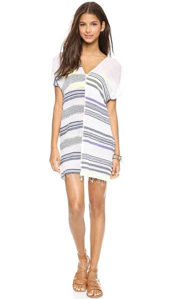Lemlem Rucha Split Cover Up Dress