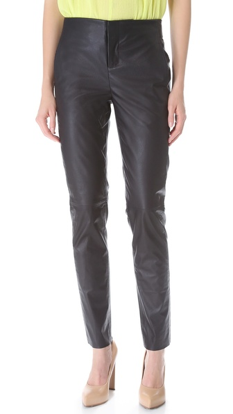 Les Chiffoniers Leather Pants