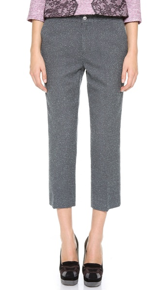 Leur Logette Wool Cropped Pants