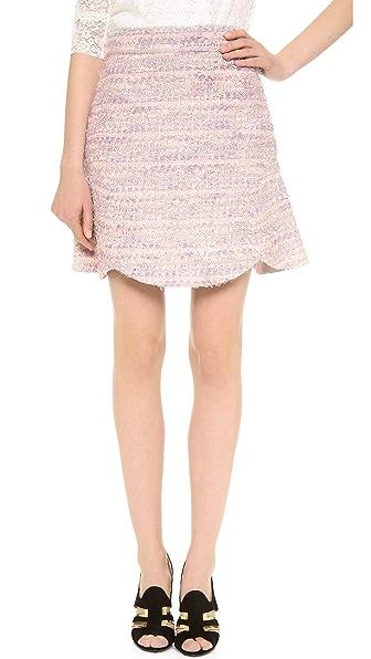 Leur Logette Tweed Miniskirt