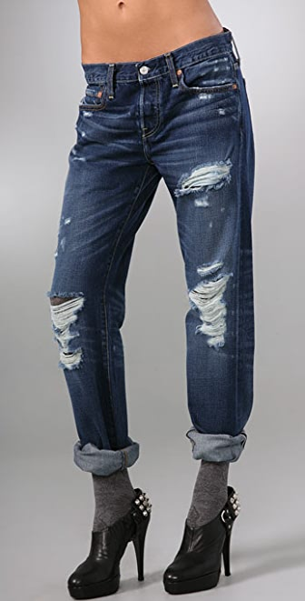 Levi's Capital E 501 Original Button Fly Jeans
