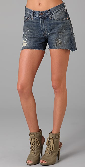 Levi's Vintage Clothing Cutoff Denim Shorts