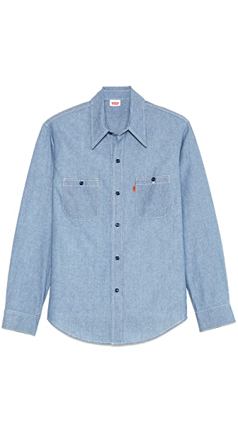 Levi's Vintage Clothing 1960s Rinse Chambray Sport Shirt