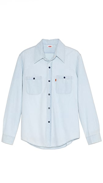Levi's Vintage Clothing 1960s Bleach Chambray Sport Shirt