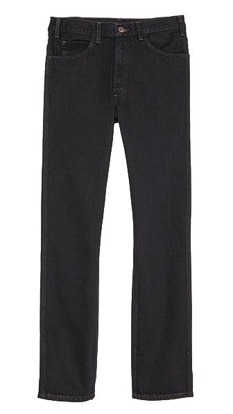Levi's Vintage Clothing Black Overdye 1960s 606 Jeans