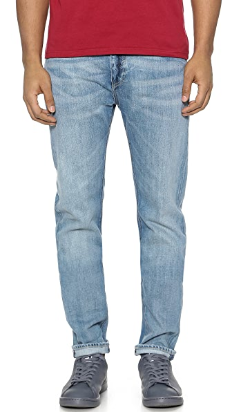 Levi 39 s made crafted shuttle straight fit jeans east dane for Levis made and crafted review