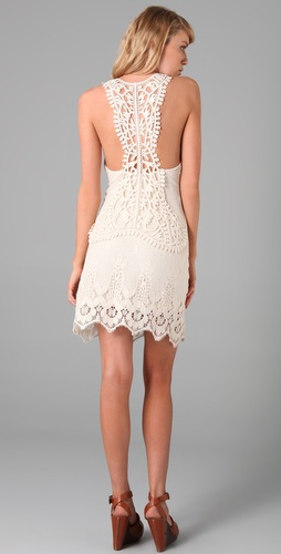 Leyendecker Trip Lace Dress