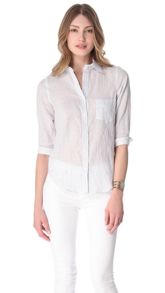 L'AGENCE 3/4 Sleeve Shirt