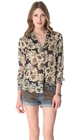 L'AGENCE Long Sleeve Blouse
