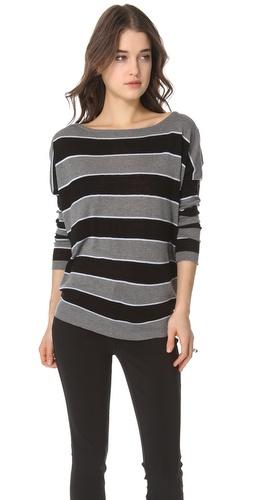 L'AGENCE V Back Sweater