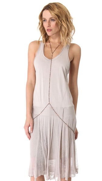 L'AGENCE Beaded Body Chain