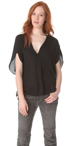 Kupi L'AGENCE Draped Dolman Top i L'AGENCE haljine online u Apparel, Womens, Tops, Blouse,  prodavnici online
