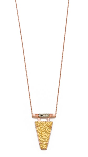 L'AGENCE Geometric Cosmic Necklace
