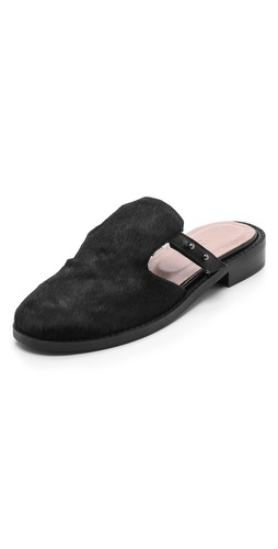 L'AGENCE Mens Sole Slippers at Shopbop / East Dane