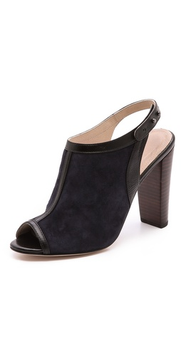 L'AGENCE Sling Back Open Toe Mules at Shopbop / East Dane
