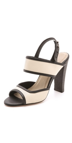 L'AGENCE Joan Contrast Sandals