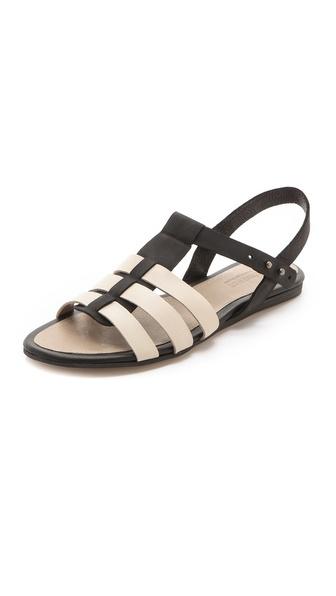 L'AGENCE Theresa Flat Sandals
