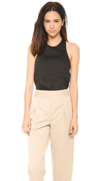 L'AGENCE Crisscross Back Top