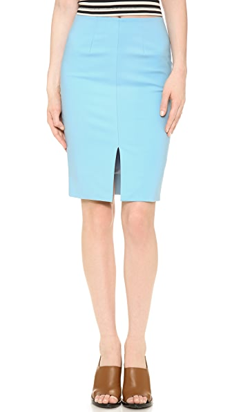 L'AGENCE Skirt with Front Slit