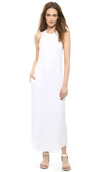 L'AGENCE Criss Cross Back Dress