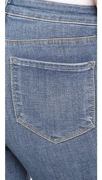 L'AGENCE Margot 高腰牛仔裤