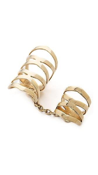 Lady Grey Double Diamond Ring