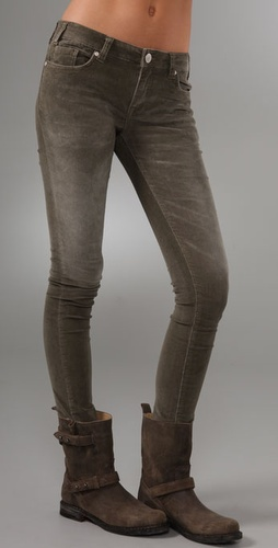 Les Halles Extra Stretch Corduroy Leggings