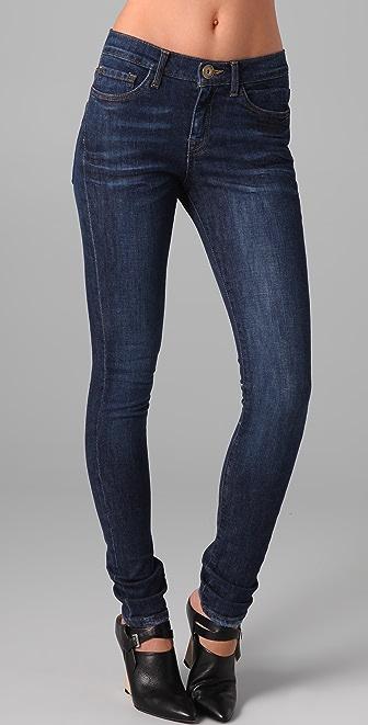 Les Halles High Waisted Super Skinny Jeans