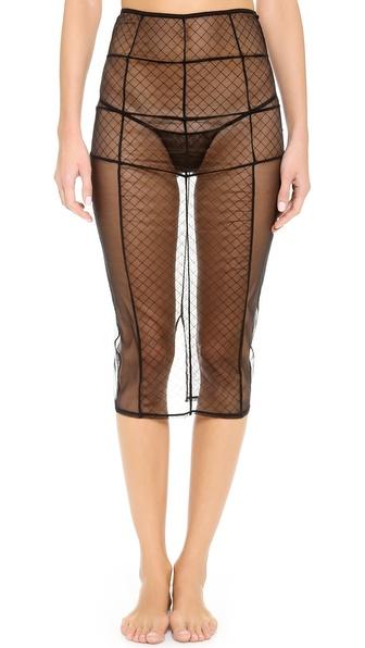 Love Haus Sheer Sexy Skirt