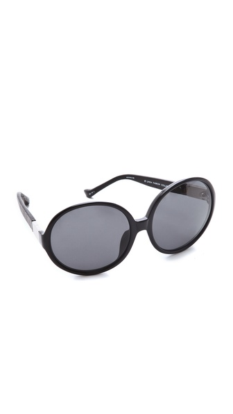 The Row Round Oversized Sunglasses