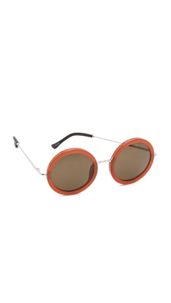 The Row Round Glam Sunglasses
