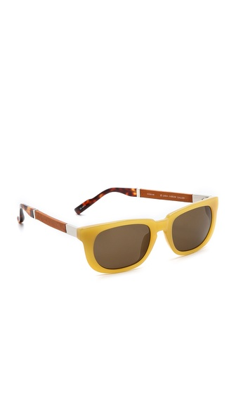 The Row Oval Lense Sunglasses