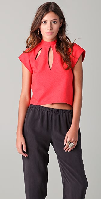 Lindsey Thornburg Keyhole Top