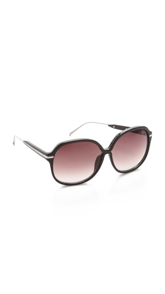 Linda Farrow Luxe Jackie O Sunglasses