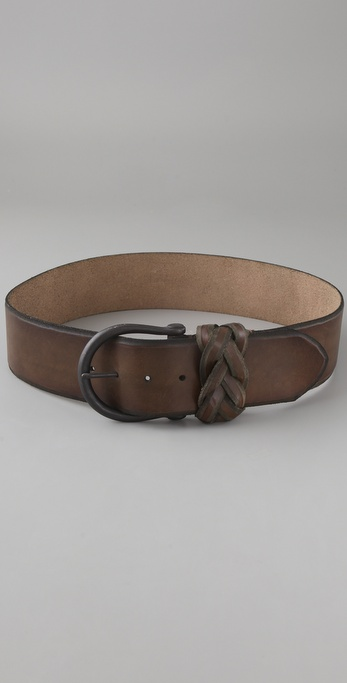 Linea Pelle Vintage Skived Edge Hip Belt