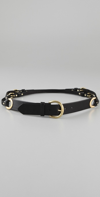 Linea Pelle Double Strap Hip Belt