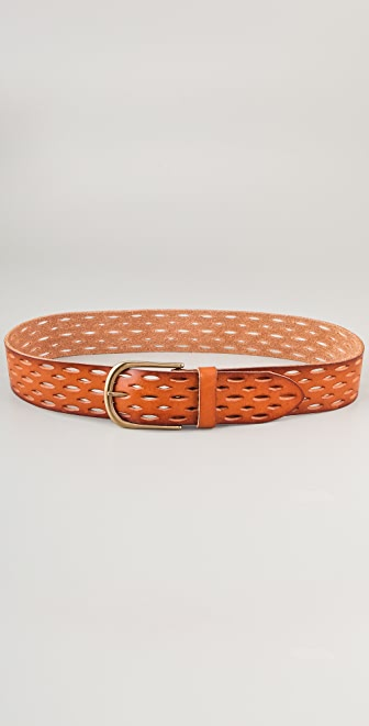 Linea Pelle Vintage Perforated Hip Belt