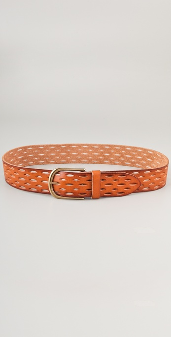 Linea Pelle Vintage Perforated Hip Belt