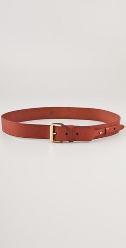 Linea Pelle Buckle & Stud Hip Belt