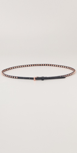 Linea Pelle Ricky Skinny Cone Studded Belt