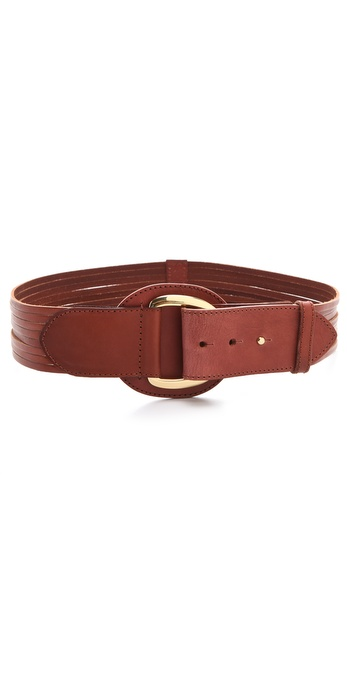 Linea Pelle Luna Sliced D Ring Belt