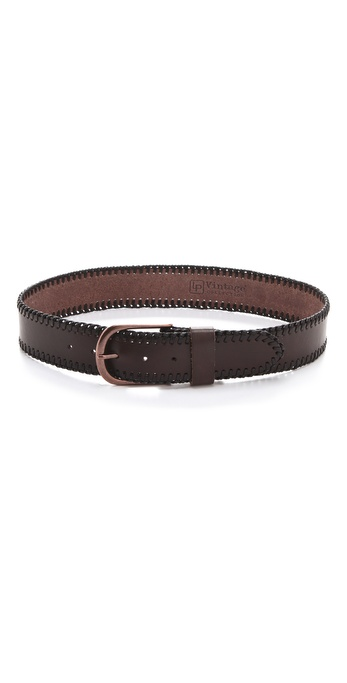 Linea Pelle Jessie Vintage Laced Edge Hip Belt