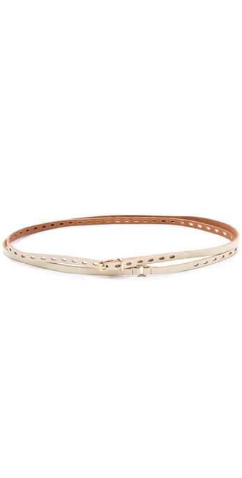 Linea Pelle Addison Double Wrap Belt