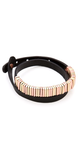 Linea Pelle Skinny Wrap Bracelet