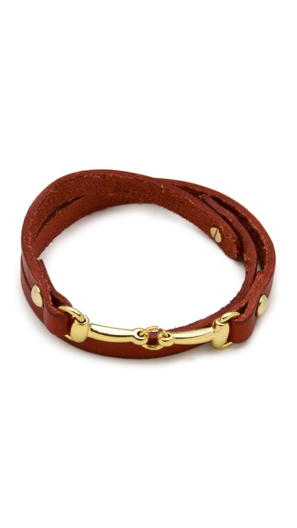 Linea Pelle Mini Harness Wrap Bracelet