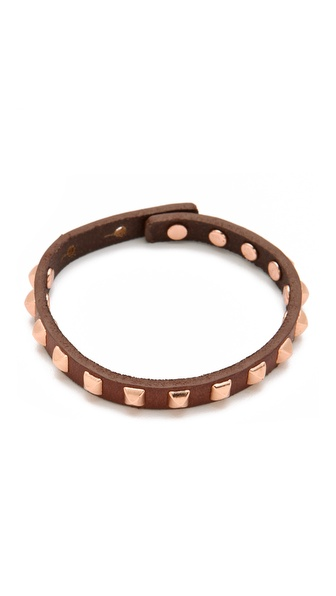Linea Pelle Studded Stackable Bracelet