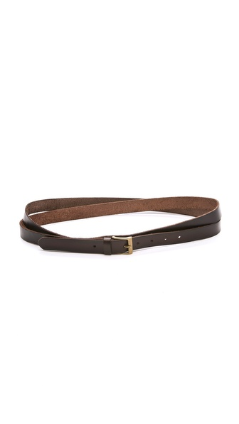 Linea Pelle Jessie Vintage Double Wrap Belt